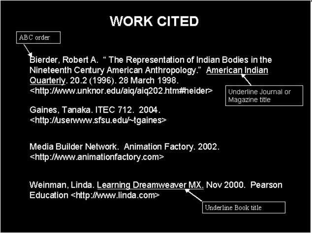mla works cited format example image collections resume cover